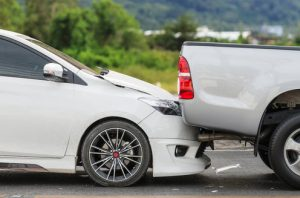 car accident rear ended