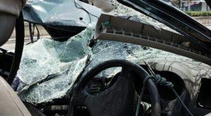 car crash damage