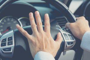 road rage honking horn
