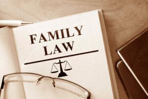 Family law attorney illustration